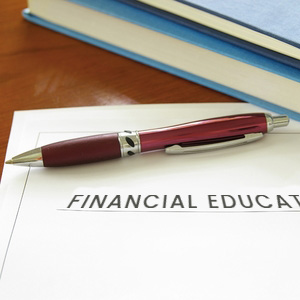 Your finanacial education is just a signature away.